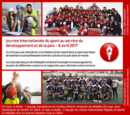 Journée internationale du sport au service du développement et de la paix