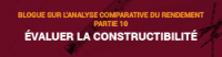 Blogue sur l'analyse comparative du rendement - Partie 10
