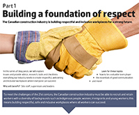 Building a foundation of respect - Part 1