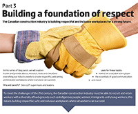 Building a foundation of respect - Part 3