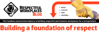 Respectful Workplaces blog masthead