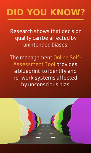 Research shows decision quality can be affected by unintended bias.
