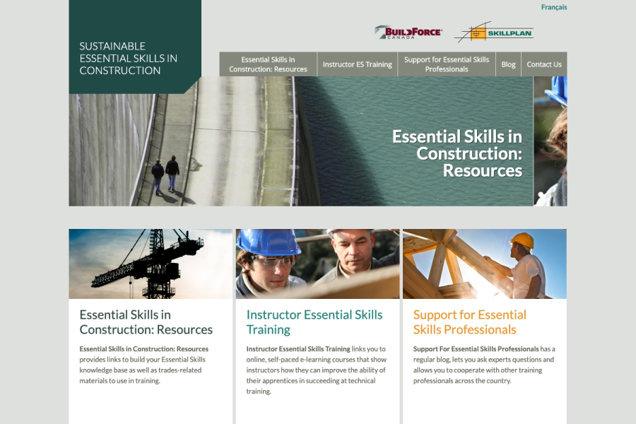 Construction Essential Skills Website Thumbnail